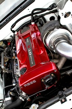 GTR engine... Up to the R34 Skylines