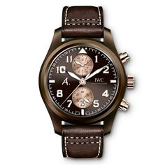 IWC [NEW][LIMITED 170][限量170支] Pilots Chronograph Last Flight Brown Dial IW388006 (Retail:HK$190,000)   OUR PRICE 售價: HK$126,800.    #iwc #LastFlight #Last_Flight #iwc_Last_Flight #iwcLastFlight #iwc_Last_Flight #iwclimited #IW388006 #IWC388006