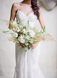 Jose Villa Photography. Gown by Galia Lahav. www.theweddingnotebook.com