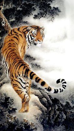 15 Best Tigers Images Oriental Tattoo Tattoo Japanese Tiger Tattoo