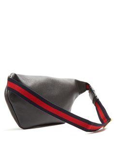 Gucci Logo-print leather belt bag