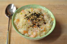 Korean Mutt: Shrimp & Vegetable Korean Rice Porridge (죽 Juk)