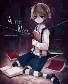 Tags: Fanart, Pixiv, Fanart From Pixiv, Cyan (artist), Allen (Alice Mare), Alice Mare