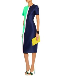 Roksanda Braemar contrast-panel dress