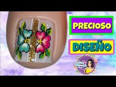 Mani Pedi, Manicure, Cute Pedicures, Cute Animal Photos, Toe Nail Designs, Toe Nails, Lily, Youtube, Toenails