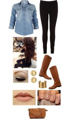 """""""First Date Outfit"""" by brittacupcake on Polyvore"""