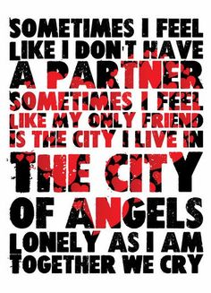 Under the Bridge, Red Hot Chili Peppers