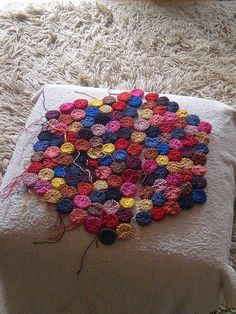 Ravelry: Project Gallery for Puffs Baby Blanket pattern by Melody Griffiths