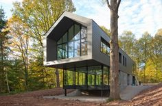 Sous Bois residence in Belgium by Luc Spits