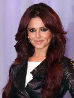 black cherry hair color I so want this color. Just a little more growth!