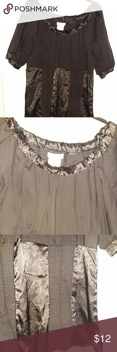 Maurice blouse About 28 in long. Zip down side Maurices Tops Blouses