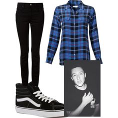 Myles Parrish by diamondj04 on Polyvore featuring polyvore fashion style Equipment T By Alexander Wang Vans