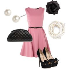 Pink and black are always cute.  I think @Mary-Cate Hayes would even wear this.