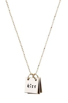 Erica Anenberg  Tattle Tablet Necklace