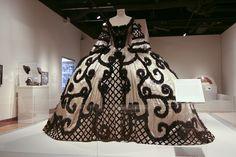 Greta Garbo's dress from Marie Antoinette (1938).