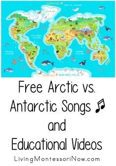 A roundup of free Arctic and Antarctic songs and educational videos for a variety of ages; perfect for home or classroom.