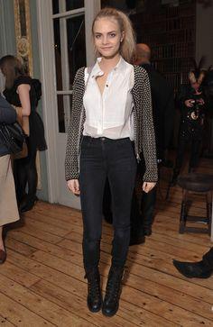 Le look de Cara Delevingne en novembre 2010 | Glamour.
