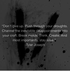 Tyler Joseph of Twenty One Pilots, aka my favorite person ever