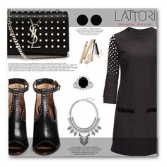"""Lattori 15"" by angelstar92 ❤ liked on Polyvore featuring Lattori, Givenchy, Yves Saint Laurent, La Femme, Leith, AeraVida, Dolce&Gabbana and lattori"