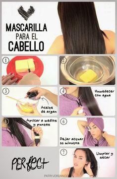 Verde y Natural: Mascarilla casera para hidratar el cabello