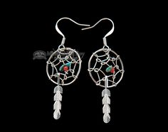 Mission Del Rey Southwest - American Indian Silver Jewelry - Earrings (http://www.missiondelrey.com/american-indian-silver-jewelry-earrings-38/)