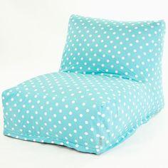 Light Blue Bean Bag Chair
