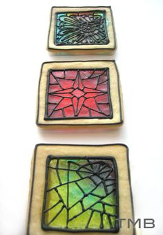 Stained Glass Cookies | Tasty Morsels Bakery ~ no recipe or instructions, showing off bakery product, check out their main page for more wow cookies