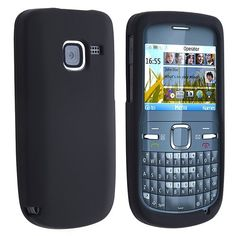 Skin Case for Nokia C3-00, Black