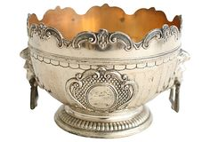 Silverplate Lion Head Bowl on OneKingsLane.com