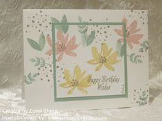 2017  SALE A BRATION SS   Avant Garden  #143272 Stamping Up Cards, Rubber Stamping, Catalogue, Creative Cards, Stampin Up Saleabration 2017, Birthday Cards For Women, Handmade Birthday Cards, Happy Birthday Cards, Card Birthday