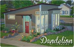 yennsims:  Dandelion Lot size:30x20 No CC … DOWNLOAD(.tray files*) *Place in >Documents\Electronic Arts\The Sims 4\Tray