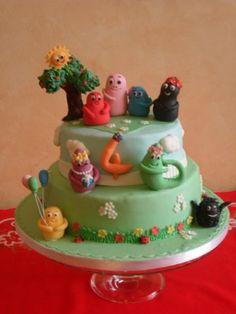 BARBAPAPA' CAKE