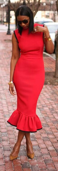 So in love with this red dress