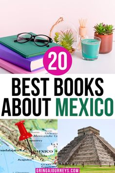 This list covers the 20 best books about Mexico, covering Mexican culture, history, and classic Mexican literature. Important books include The Underdogs by Mariano Azuela, The Broken Spears: The Aztec Account of the Conquest of Mexico by Miguel León-Portilla, and Under the Volcano by Malcolm Lowry. | fiction books about Mexico |books set in mexico by mexican authors | books about mexico history | books about mexico culture | mexican history books Latin America, South America, Mexico Vacation Outfits, Flag Drawing, Mexico Culture, Travel Books, Interesting Reads, Mexico Travel, History Books