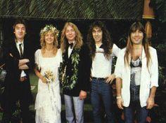 Dave Murray's wedding