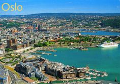 I would love to go to Oslo and explore my Norwegian heritage :) Oslo, Capital Of Norway, Sovereign Wealth Fund, Airline Travel, Most Beautiful Cities, Denmark, Paris Skyline, City Photo, Things To Do