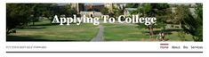 My blog! I started it to give every student access to easy-to-follow, free advice on college essay writing and interview skills. Check it out! #college #collegeadmission #collegeessay