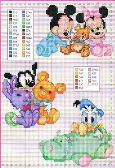 Disney cross stitch patterns