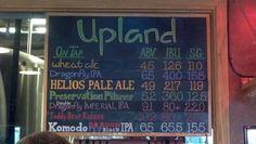 Upland Brewing, Bloomington Indiana