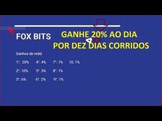 SACANDO 0.043 BTC em um dia NA FOX BITS 20% AO DIA