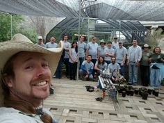 Volunteers from Google at the Back to Natives nursery!