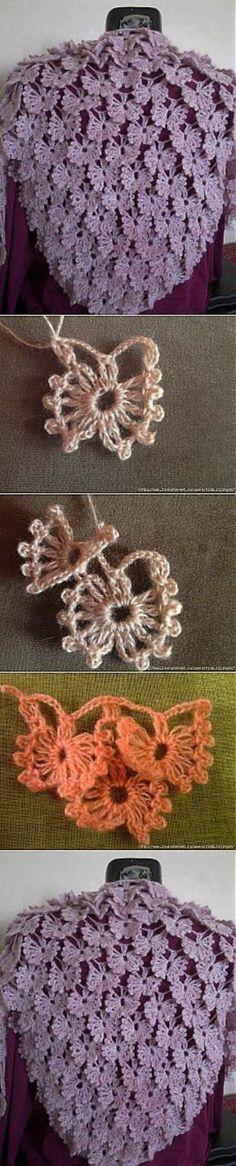 Crochet Drink Coaster Pattern - How to Crochet a Classic Round Motif - Vest Crochet Shawl Crochet, Bonnet Crochet, Crochet Shawls And Wraps, Freeform Crochet, Crochet Scarves, Irish Crochet, Crochet Motif, Diy Crochet, Crochet Crafts