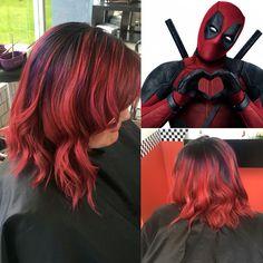 Deadpool hair