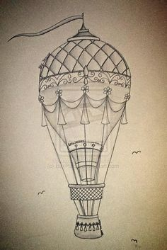 Hot Air Balloon by BexPlanet