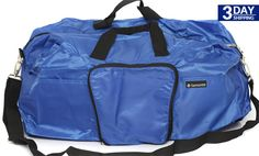 Get 50% #discount on Samsonite Royal Blue Tote-A-Ton Packable Duffel Bag 179954 #onlinedeals #cashcashpinoy