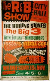 Vintage U.K. Concert Posters of the 1960s