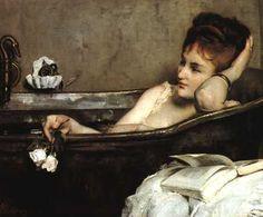 Alfred Stevens - Le bain