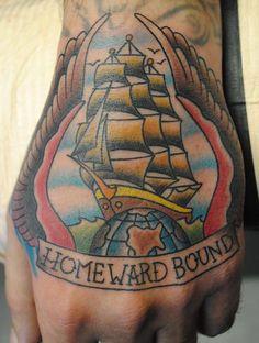 homeward bound Tattoo Picture  Bryan Davis