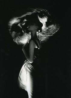 Yohji Yamamoto, 1987  Photographer: Nick Knight  Model: Kirsten Owen