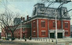 This building was originally the Rochester Armory, and a convention hall, when this picture was taken.  Currently it houses the GEVA Theater.